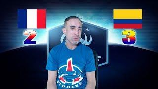FRANCE 2-3 COLOMBIE - Azéd Stories