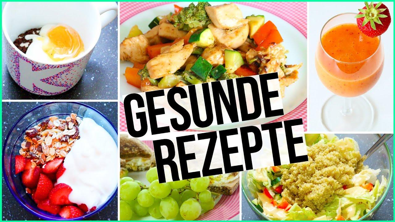 GESUNDE & EINFACHE REZEPTE - Frühstück bis Abendbrot ...