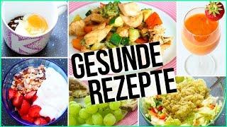 GESUNDE & EINFACHE REZEPTE - Frühstück bis Abendbrot - Tassenkuchen, Frühstücksburger...