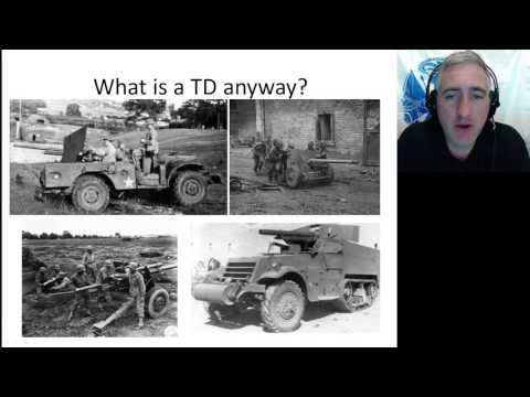 US Tank Destroyer History