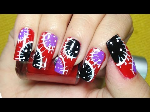 Nail Art Ideas – Nail Art Paint Design – Easy Ways Creative Nails – Chamroeun Part #16