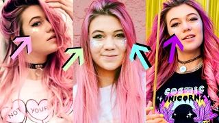how I do my glitter cheek contour!