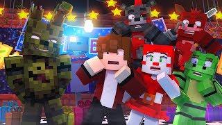 Minecraft FNAF 6 Pizzeria Simulator - SPRINGTRAP RETURNS!  (Minecraft Roleplay)