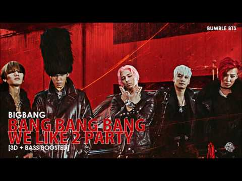 [3D+BASS BOOSTED] BIGBANG (빅뱅) - 'MADE' 2015 FULL ALBUM | bumble.bts