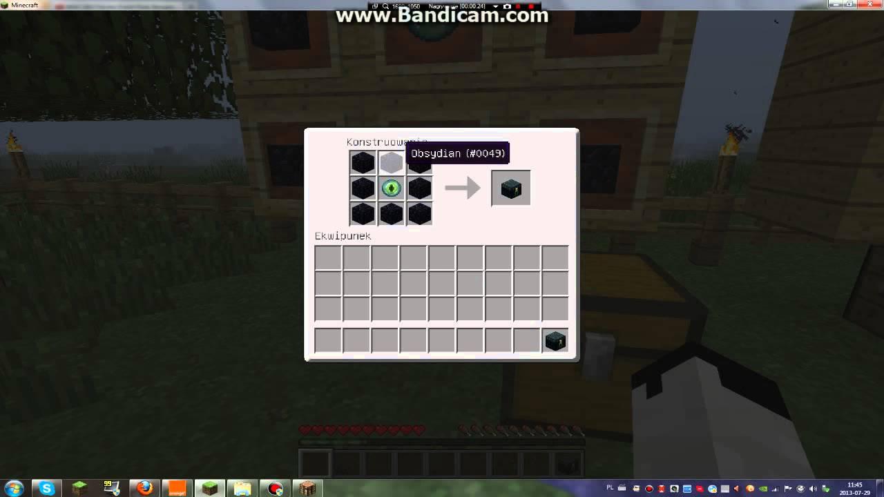Minecraft Poradnik Jak Zrobic Magiczna Latarnie Oraz