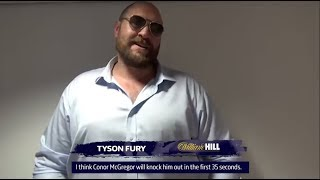 ANTHONY JOSHUA, TYSON FURY, DILLIAN WHYTE & MORE GIVE PREDICTIONS FOR MAYWEATHER v McGREGOR!