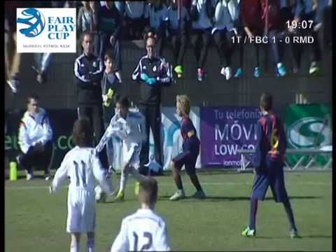 Takuhiro Nakai [中井] Pipi Real Madrid vs Barcelona Fairplaycup Elche