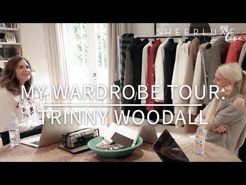 My Wardrobe Tour: Trinny Woodall
