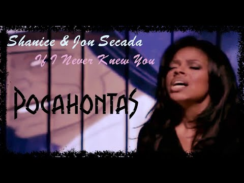 Shanice & Jon Secada - If I Never Knew You (Official Music Video)