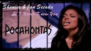 "Shanice & Jon Secada ""If I Never Knew You"" (HD Music Video) (Pocahontas Soundtrack)"