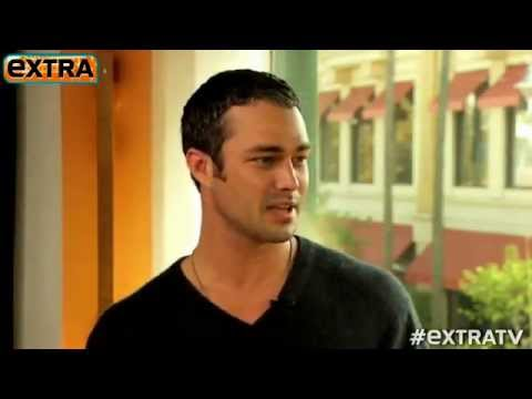 Taylor Kinney talking about Lady Gaga on EXTRA Interview