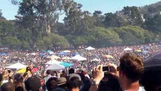 420 Countdown Celebration Golden Gate Park (Hippie Hill) S.F.2013