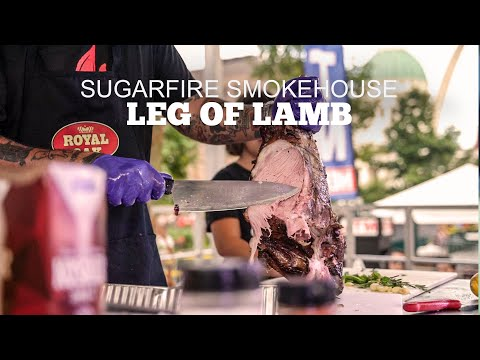Leg of Lamb on the GMG | Sugarfire Smokehouse