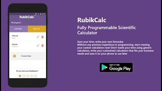 RubikCalcPRO: Programmable Calculator (PRO)