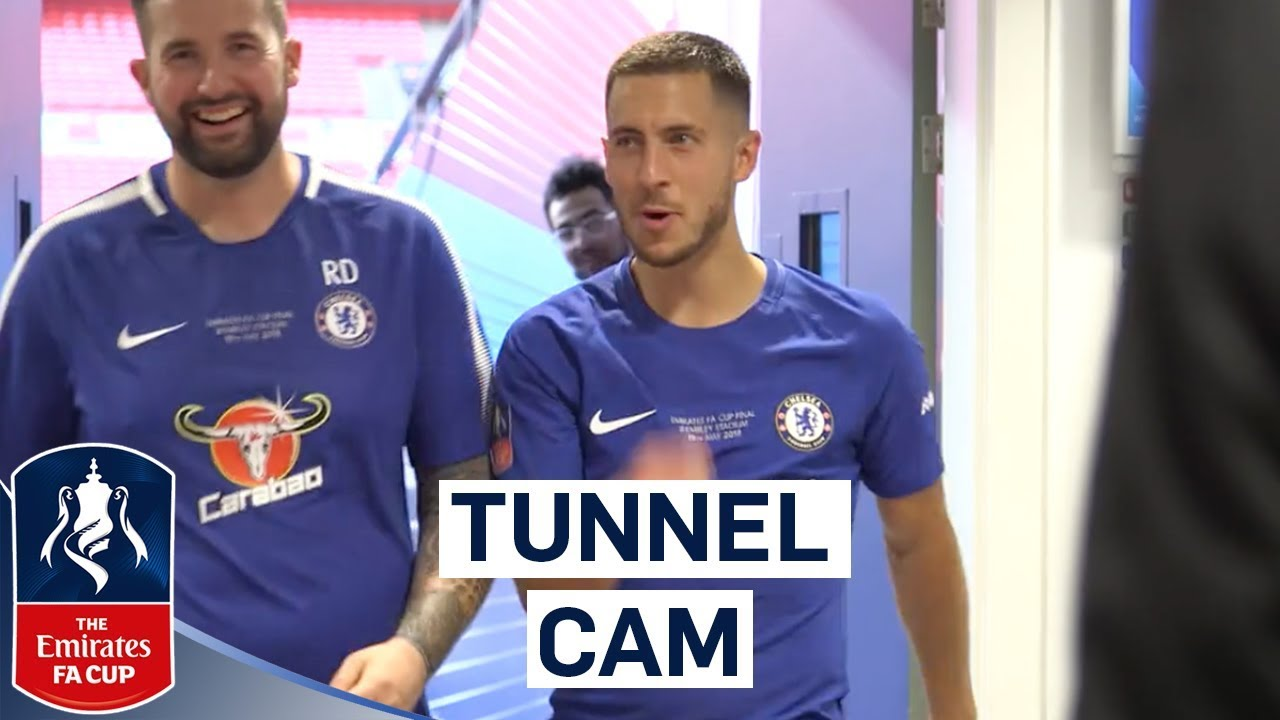 Download Extended Tunnel Cam As Chelsea Win The FA Cup! | Chelsea 1-0 Manchester United | Emirates FA Cup