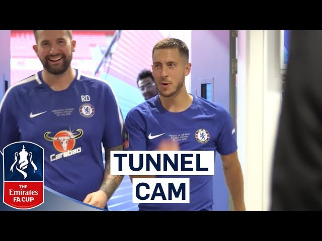 Extended Tunnel Cam As Chelsea Win The FA Cup! | Chelsea 1-0 Manchester United | Emirates FA Cup