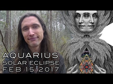 Aquarius Valentine's Solar Eclipse Feb 15th  2018 The Art of Harmony & Equality,  Union & Separation