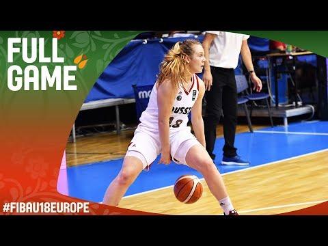 Russia v Slovenia - Full Game - FIBA U18 Women's European Championship 2017