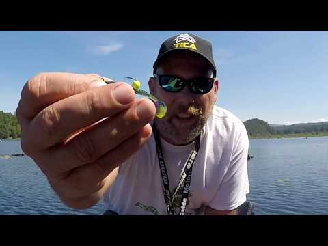 Kapowsin Lake Crappie And Perch Using A New Plastic