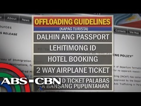 Bandila: Airlines passengers blast immigration offloading guidelines