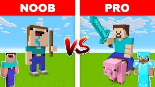 MINECRAFT - NOOB VS PRO in Minecraft / Part 1
