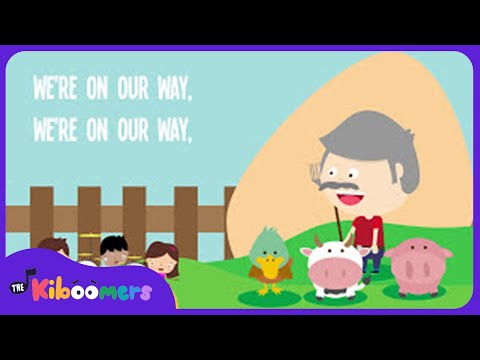 Grandpa's Farm Song   Lyrics   Animal Song   Nursery Rhyme   Kids Songs   Baby Songs