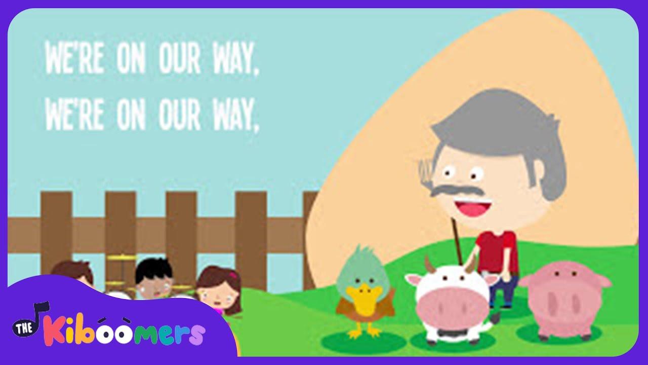 Grandpa's Farm Song | Lyrics | Animal Song | Nursery Rhyme | Kids Songs | Baby Songs
