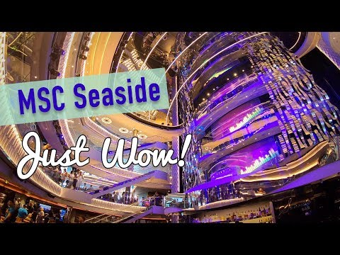 MSC Seaside Caribbean Cruise Vlog - Day 1 Review