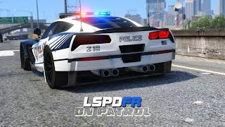 LSPDFR - Day 261 - Chevrolet Corvette C7R Pursuit Edition