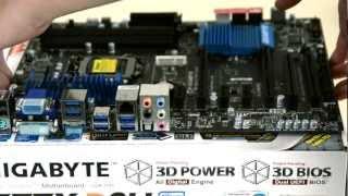 gigabyte z77x d3h motherboard unboxing hackintosh 2012 ep 2