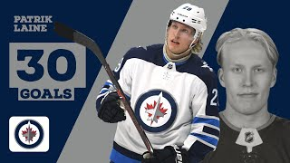 Patrik laine (#29) | all 30 goals from 2018-19 regular season wpg