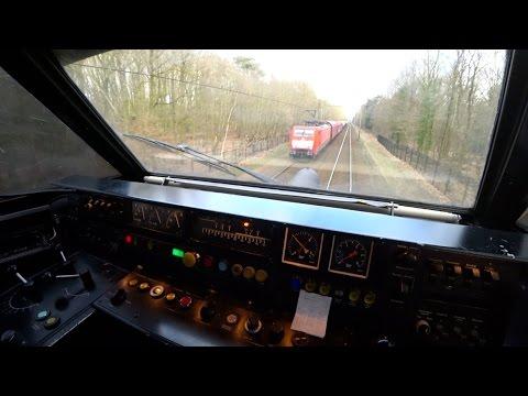 Train Driver's POV icm Amsterdam - Deventer 2017
