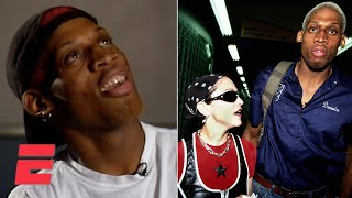 Dennis Rodman talks about his relationship with Madonna in 1995 interview | ESPN