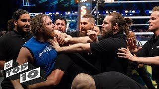 Download Security guards get wrecked: WWE Top 10, Oct. 20, 2018 Mp3 and Videos