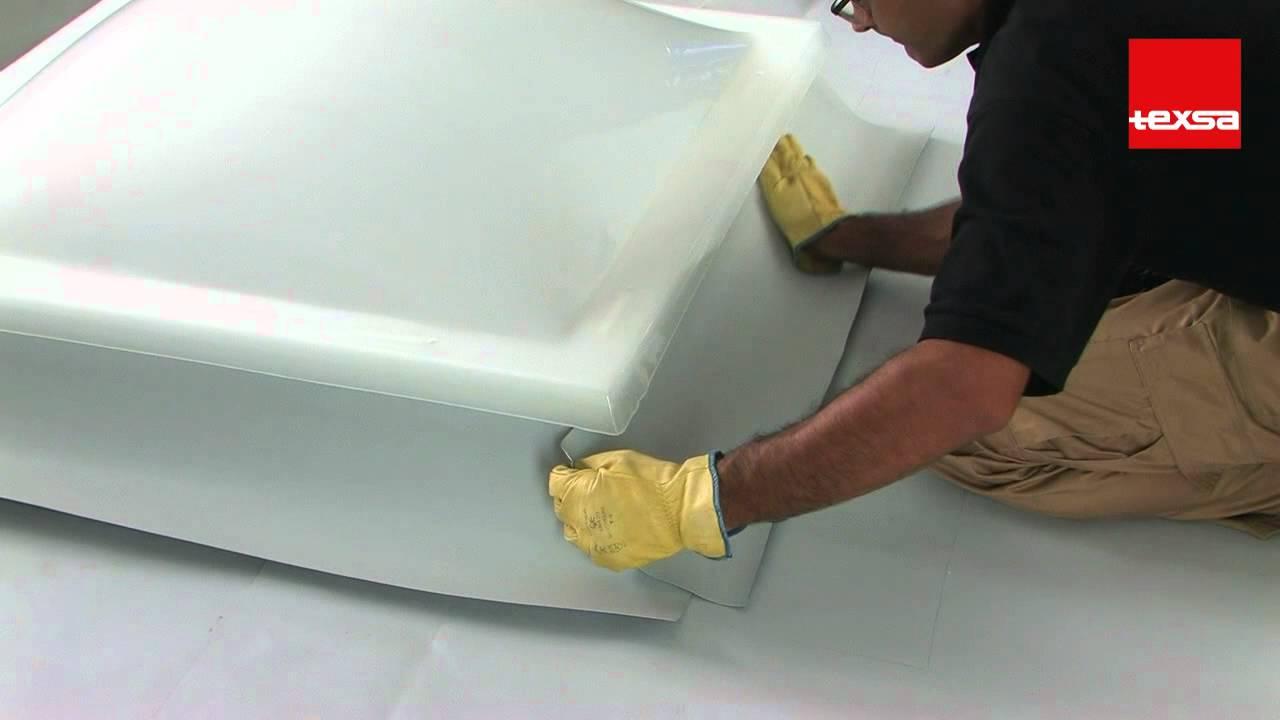6 7 Pvc Waterproofing Membranes Skylight Flashing Texsa
