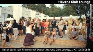 Бразильская вечеринка DJ Гарик Мартиросян Havana Club Lounge Jurmala