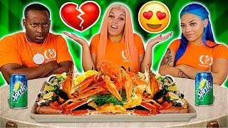 EXPOSING MY SISTER & HUSBAND SECRET RELATIONSHIP 💔😭 (KING CRAB SEAFOOD BOIL MUKBANG)
