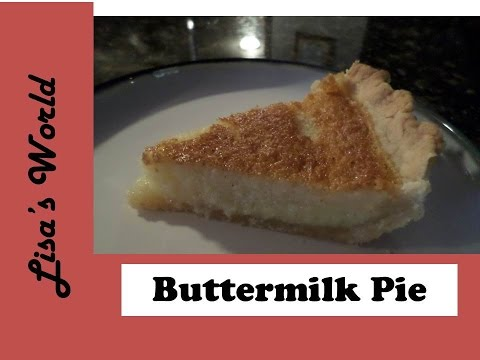 Easy and Delicious Buttermilk Pie