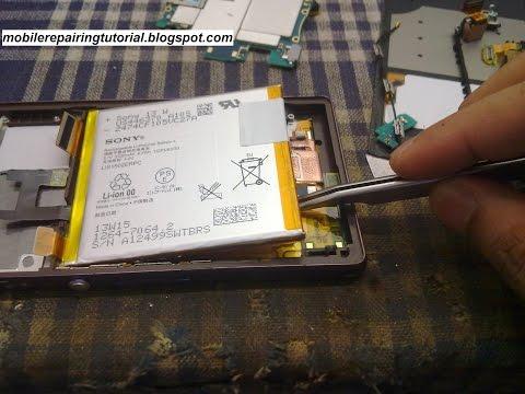 Sony xperia Z C6602 Disassembly