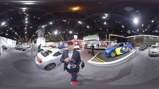 Subaru Exhibit Chicago Auto Show 360 Video