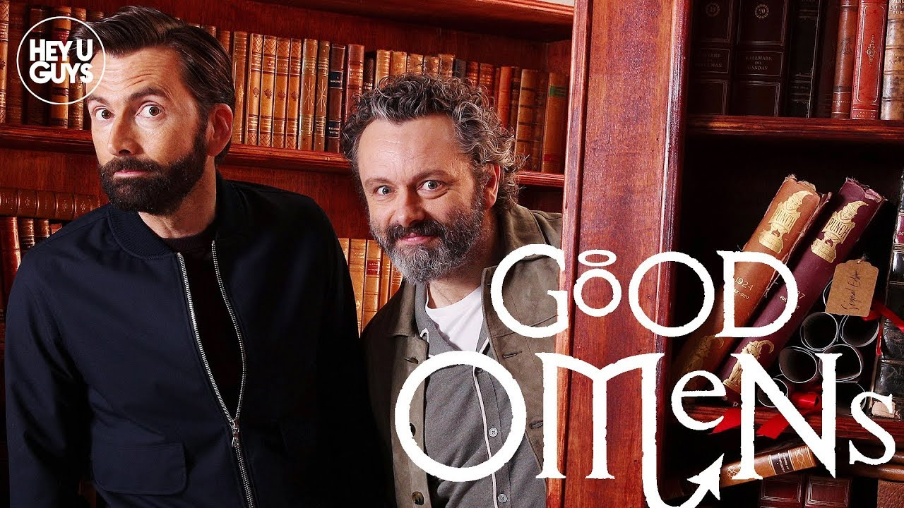 David Tennant & Michael Sheen surprise Good Omens Guests