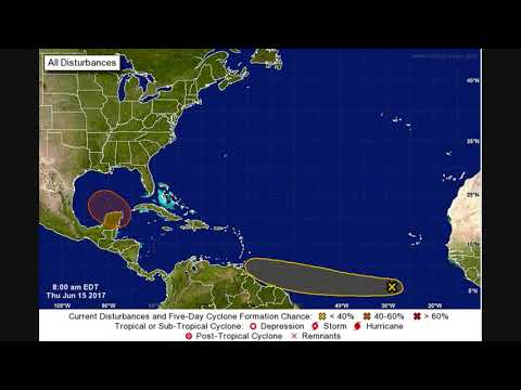 Two new tropical threats are taking shape in the Gulf of Mexico