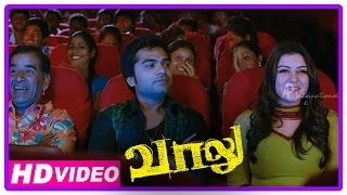 Vaalu Tamil Movie | Scenes | Simbu And Hansika Goes Thala Ajith's Movie | Santhanam