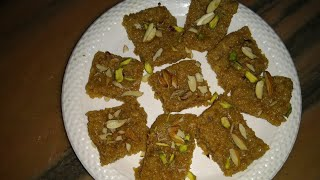 PAKI MALAI KI BARFI | quick and tasty home- made recipe |