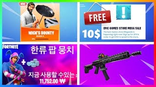 $10 FOR EVERYONE FROM FORTNITE, HIDDEN SKIN ALREADY IN THE GAME! | Fortnite