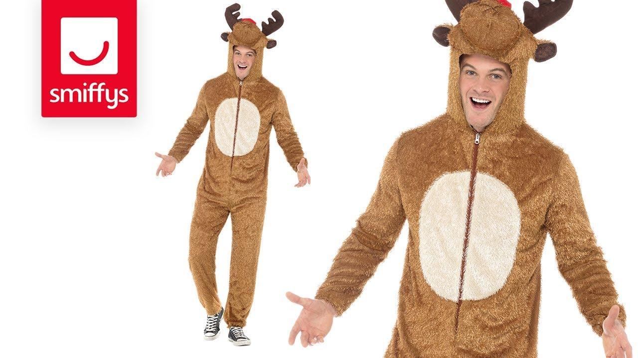 Reindeer Costume Adult  sc 1 st  YouTube & Reindeer Costume Adult - YouTube