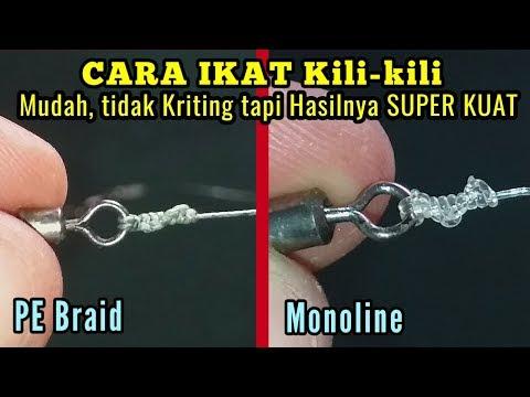 How To Tie A Swivel (The Strongest Knot) || Cara Ikat Swivel / Kili-kili Pancing