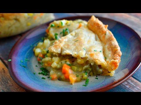 Vegan Veggie Pot Pie w/ Store Bought Crust – Easy!