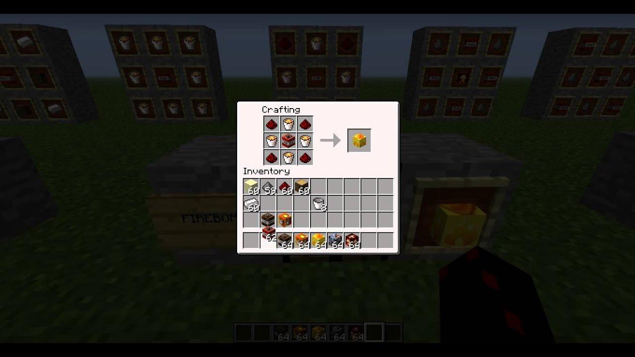 Minecraft: How to make TNT, Napalm, Firebomb, Miner TNT ...