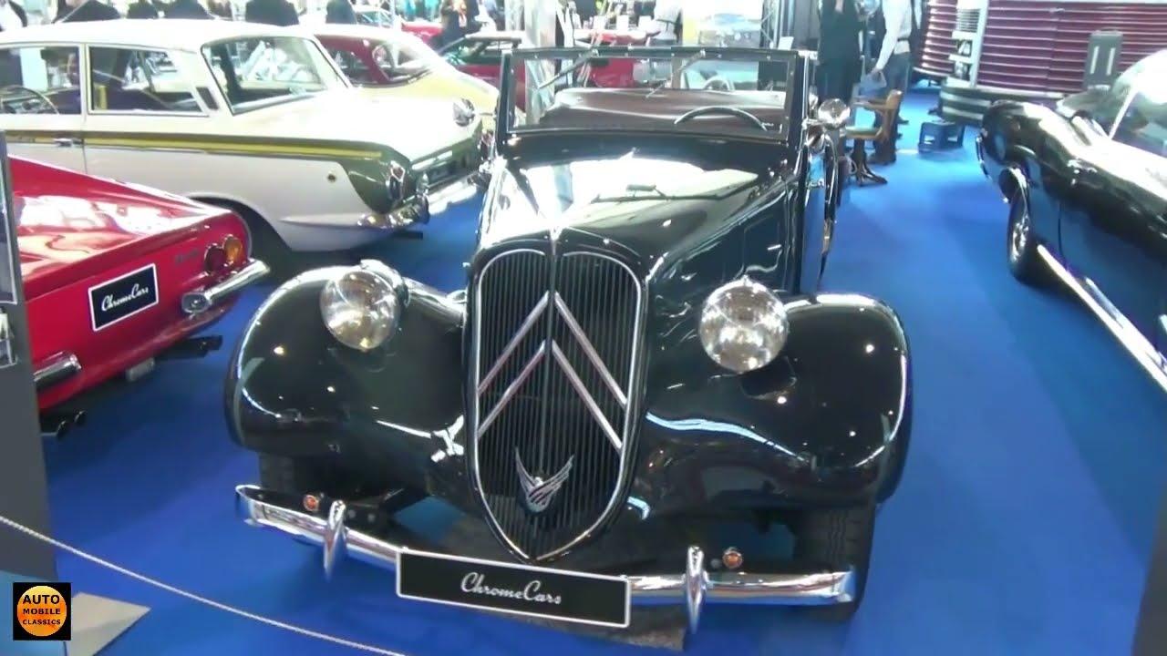 1952 Citroen Traction Avant 11 Bl Exterior And Interior Retro Classics Stuttgart 2016